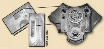 Pontiac Engine Code How Do I I D A 1964 Pontiac 421 Or 421 H O
