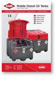 Accu Mobil Diesel kabi brugervejledninger manualer og bestandighedstabel
