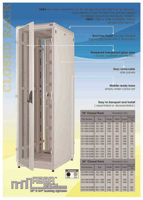 Rak Komputer Server harga abba rack server paket 19 inch 20u depth 900mm rp 6 166 581