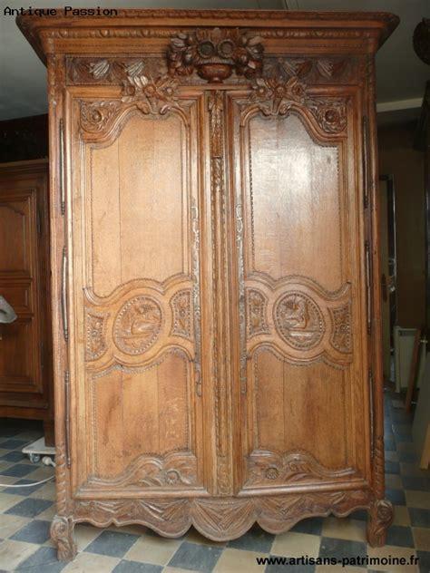 armoire normande de mariage artisans du patrimoine