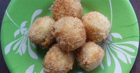 Ayam Geprek Keju Chedar 2 resep bola ayam goreng crispy enak dan sederhana cookpad