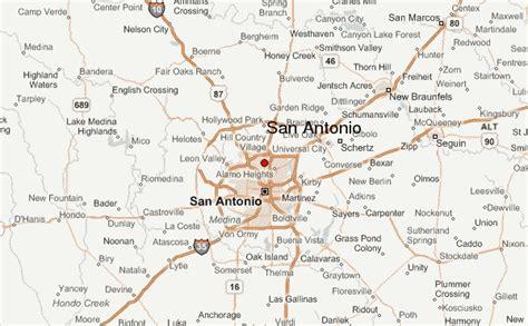 map of san antonio texas and surrounding cities san antonio location guide