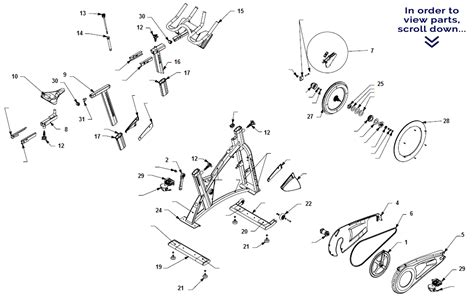 schwinn airdyne parts diagram schwinn ac performance scroll to view parts