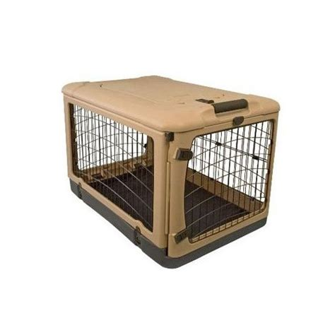 puppy crates petco pet gear deluxe steel crate petco store