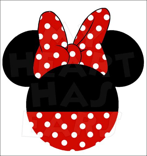 minnie mouse clipart minnie mouse bow clip clipart panda free