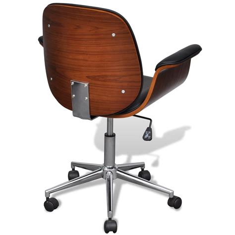 adjustable swivel chair adjustable swivel office chair artificial leather vidaxl