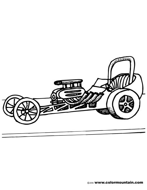 Dragster Coloring Pages top fuel dragster coloring pages coloring pages