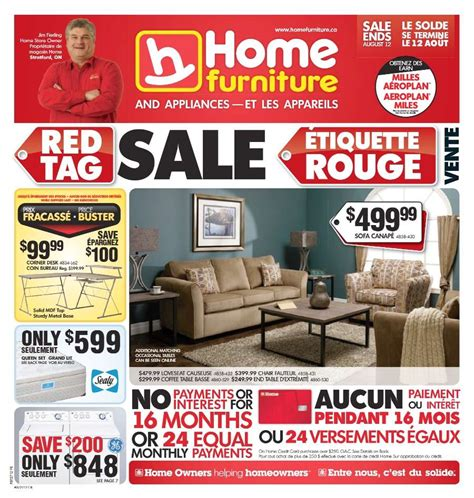 home furniture flyer aug 1 to 11