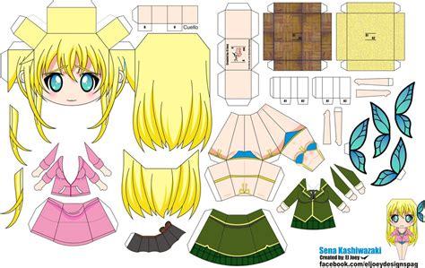 Papercraft Animation - kashiwasaki papertoy by eljoeydesigns on deviantart