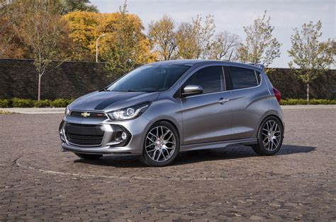 the 2016 chevrolet spark gets the rs treatment for the