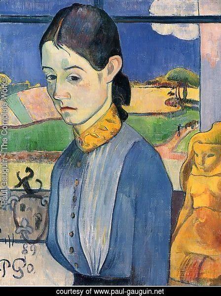 libro paul gauguin a complete paul gauguin the complete works young breton woman paul gauguin net