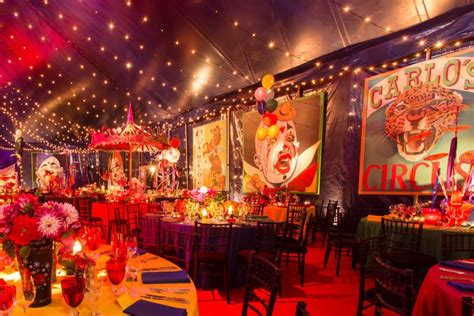 good themed events circus themed wedding reception google search circus