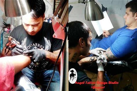 angel tattoo design studio gurgaon haryana 20 off on tattoo training by satty tattoo artist angel