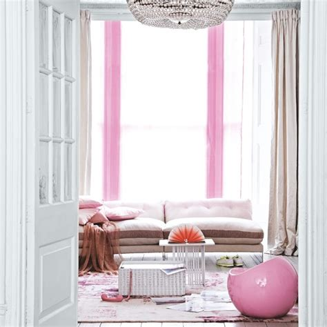 pink living room curtains gorgeous pinks 10 decorating ideas housetohome co uk