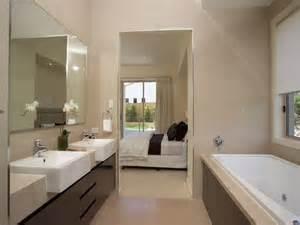 Bathroom design with spa bath using slate bathroom photo 104046