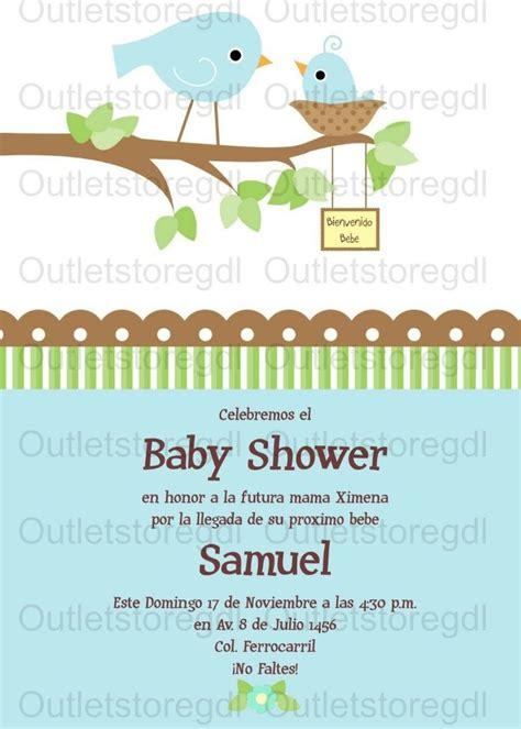 Paket Baby Shower 1 invitaciones baby shower personalizadas nio y nia 70 hawaii pelauts bebe babies