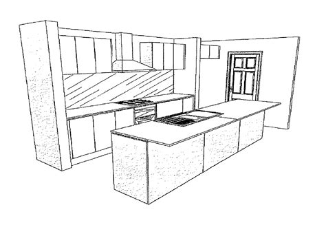 Kitchen Drawings | kitchen brooks reach building adventure
