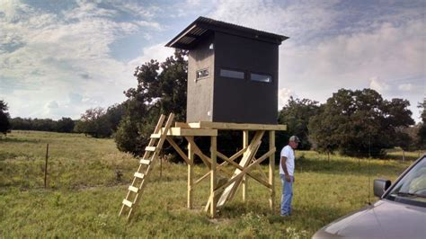 how do layout blinds work please critic my 4x6 deer blind layout plans will follow