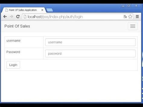 membuat login dengan codeigniter langkah mudah membuat login dengan codeigniter youtube