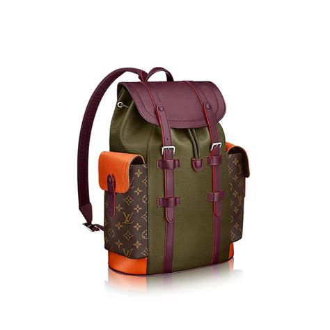 Berkualitas Tas Lv Supreme Epi Leather Sling christopher pm epi in s s bags collections by louis vuitton louie vitton
