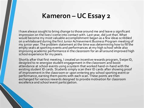 Uc Application Essay Sles uc application essay sles 28 images 9 uc personal