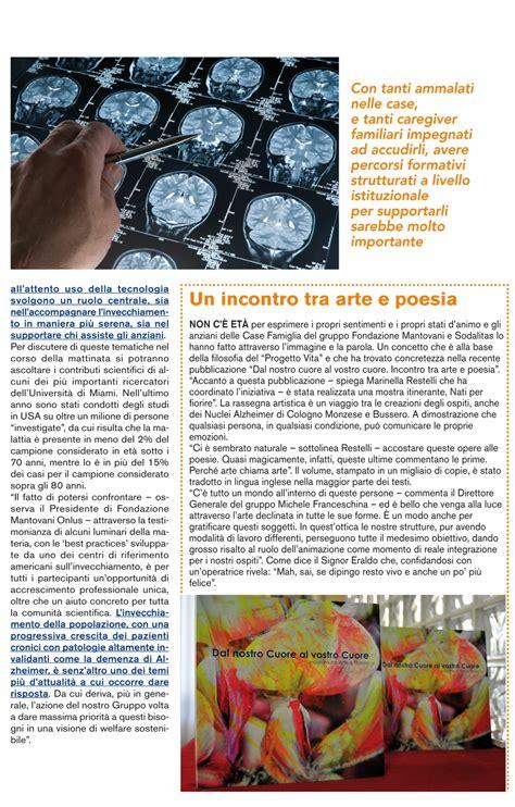 fondazione mantovani fondazione mantovani convegno sull alzheimer rivista area