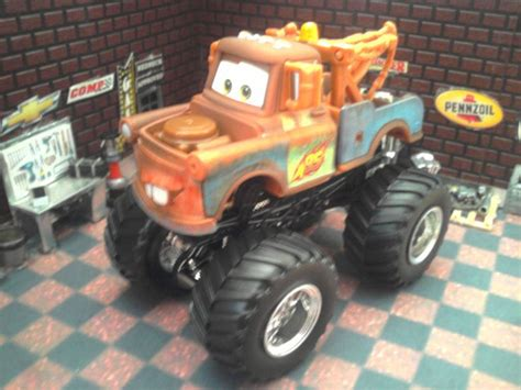trucks on jam wheels and custom built 1 64 scale pixar cars tow mater wheels