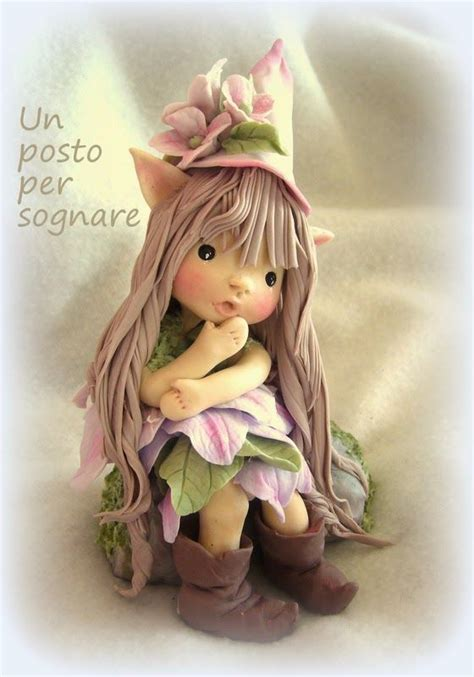 cold porcelain doll cold porcelain a place to dolls fairies and