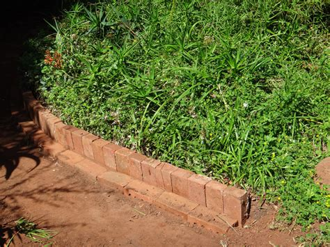 edging a flower bed how to use bricks or rocks around your flower beds