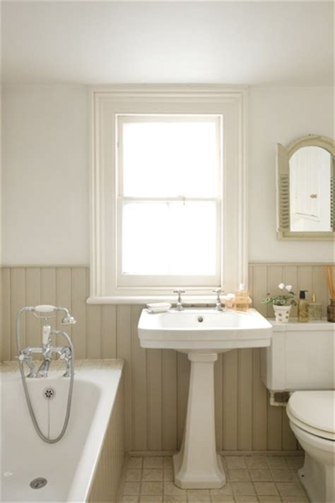 bathroom tongue and groove cladding tongue and groove panelling in the bathroom painted in shades of dulux chalky downs