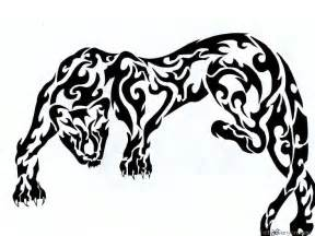 tribal leopard tattoos black panther tribal designs search