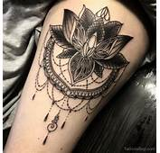 Lotus Flower Tattoo  Designs Pictures