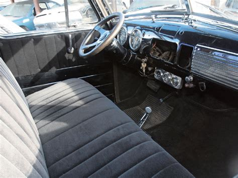 1951 chevrolet truck interior photo 3