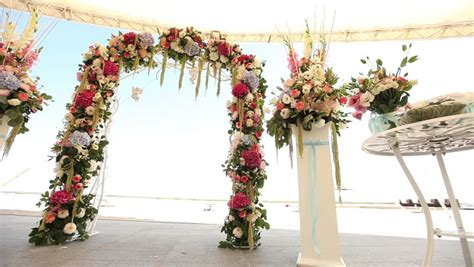 Wedding Arch Decorated With Flowers wedding flower arch decoration wedding arch decorated