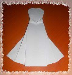 How To Make Origami Wedding Dress - 1000 images about origami on origami wedding