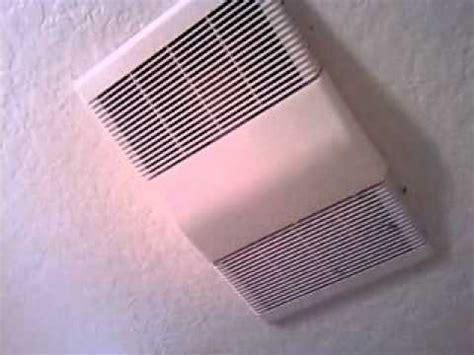 remove nutone bathroom fan nutone heater bath fan youtube