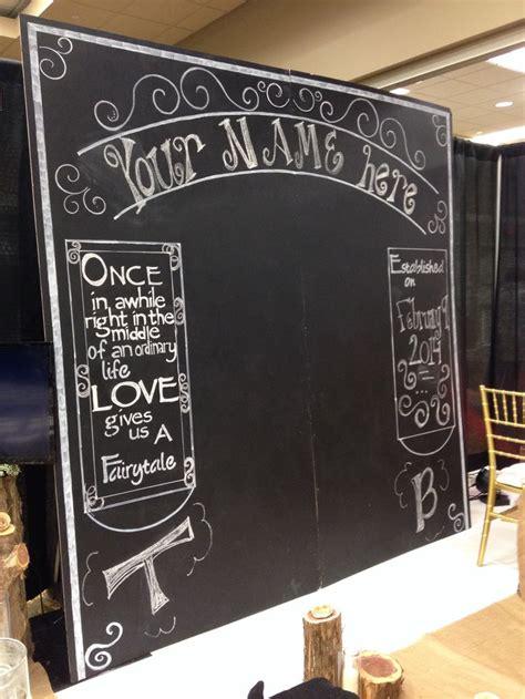 chalkboard paint durban large chalkboard backdrop chalkboard wedding rustic