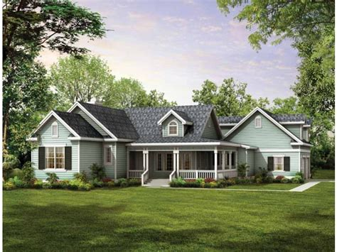 One Story Farmhouse Plans by Single Story House Plans Design Interior