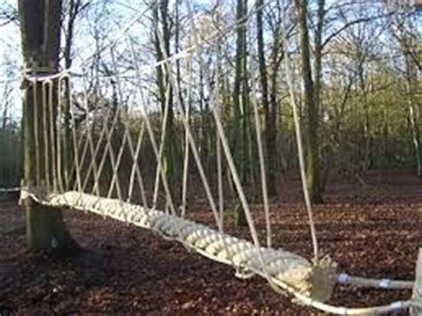 how to build a swinging bridge how to make a rope bridge google search treehouse