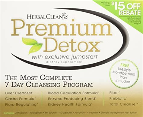 Herbal Clean Premium Detox Reviews Test by 1 Trusted Ultra Eliminex Detox 32 Oz Detoxification Drink