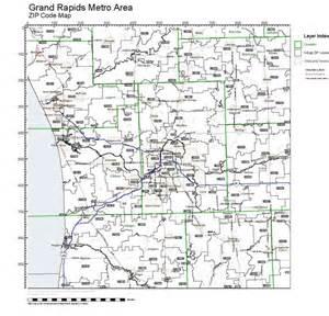 Michigan Zip Codes Map by Workingmaps Com Zip Code Maps