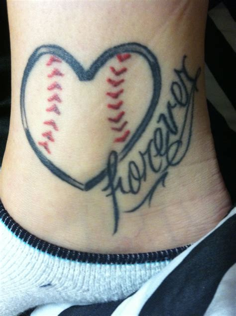 cool baseball tattoos bestfriend softball tattoos
