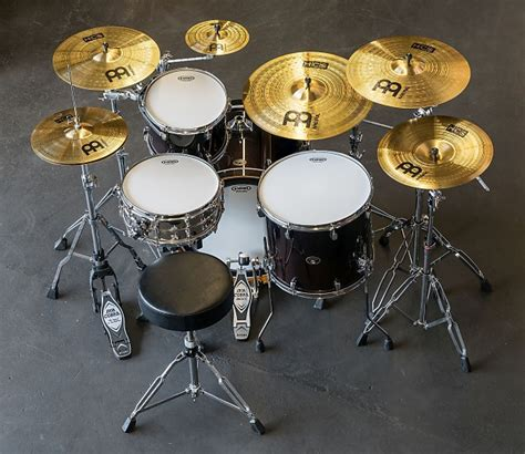 Meinl Cymbal Set Hcs14162010s Paket Meinl Cymbal Hcs Series meinl cymbals hcs scs set cymbal box pack reverb
