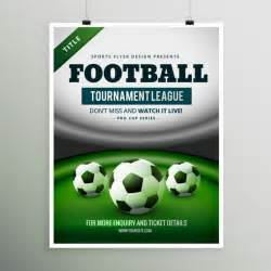 football tournament poster vector free download