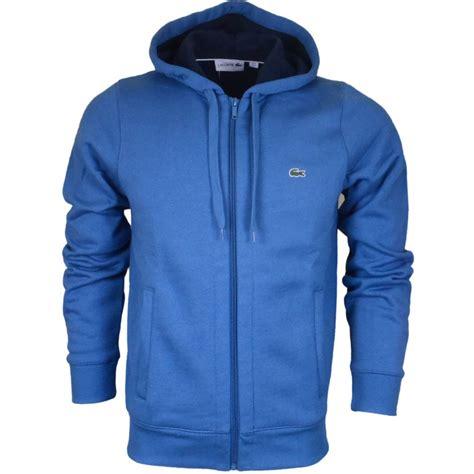 Hoodie Zipper Franky C3 lacoste sh2516 zip turquoise hoodie lacoste from n22 menswear uk