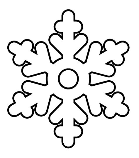 snowflake coloring pages wecoloringpage