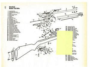 marlin c 9 parts diagram glenfield model 75c rifle model 70 carbine exploded views