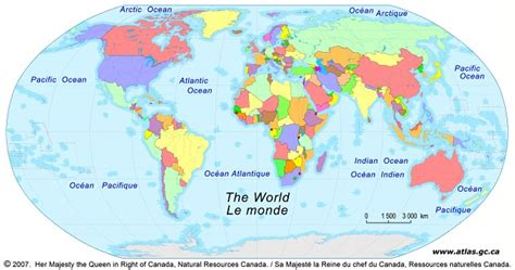 printable world map showing countries world continents countries and oceans xaliahumanities