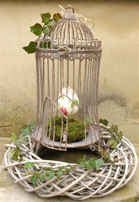 cheap garden decoration in 28 objects of style shabby chic or rustic style my desired home