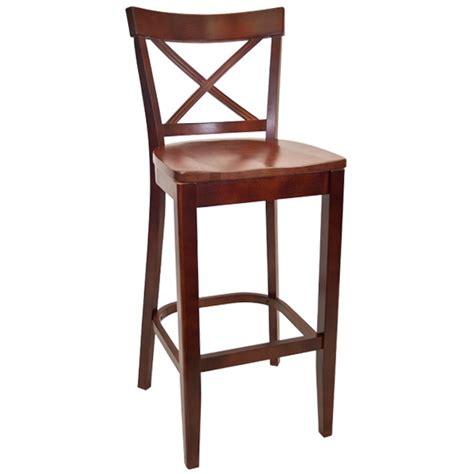 bar stools for restaurant beechwood x back restaurant bar stool